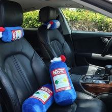 Подголовник автомобильного сиденья мягкая плюшевая подушка для