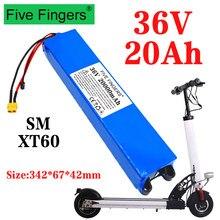 36v 20ah 18650 bateria de lítio 10s3p 20000mah 250w-500w mesmo porto 42v scooter elétrico m365 ebike bateria de energia com bms