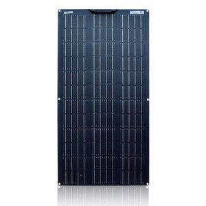 Image 5 - kit solaire 100 W flexible panneau solaire kit 12v 100 watt 120w 200w systeme solaire pour la maison Yacht RV caravane cabine bateau et 12v chargeur de batterie