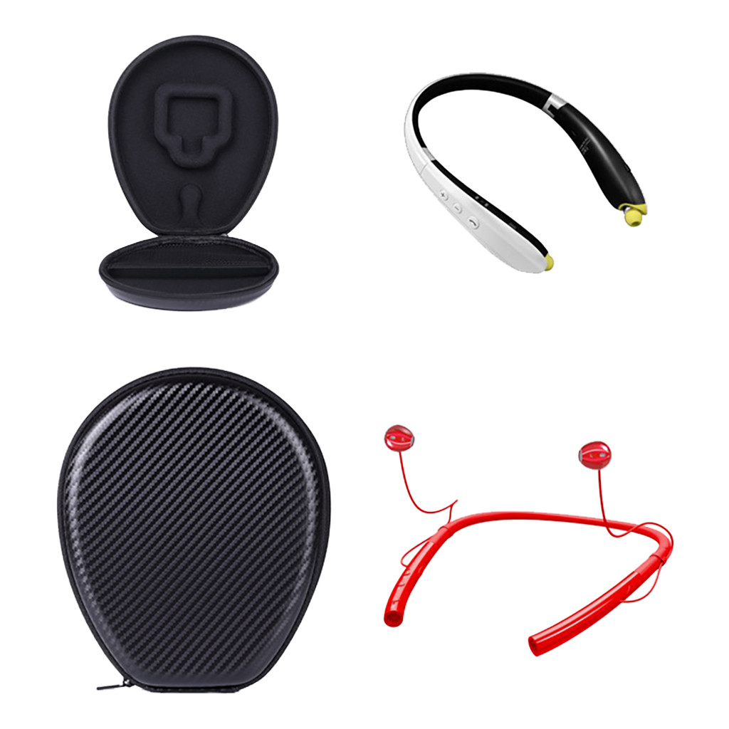 Anti Shock Hard Bluetooth Headphone Carrying Case Travel Bag Storage For Sony US