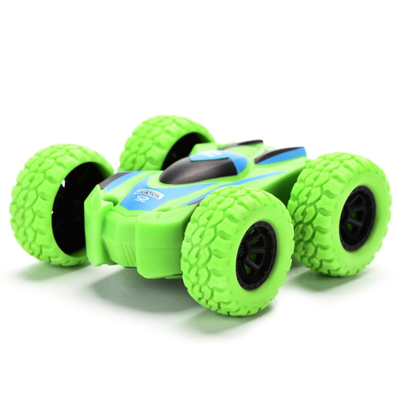 CHILDREN'S Toy Car Double-Sided Inertia Sliding Car Drop-resistant 4-6-Year-Old Boy Stunt Toy Car
