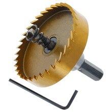 Utoolmart HSS foret trou scie ouvreur 85mm longueur coupe outil pour acier inoxydable fer alliage métal foret 42/45/48/50/53/55/60mm