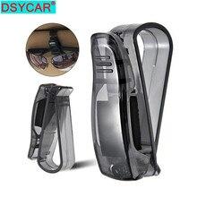 цена на DSYCAR 1Pcs Sun Visor Clip, Sunglasses Holder for Car Sun Visor, Car Sunglasses Clip, Glasses Hanger Mount with Card Clip