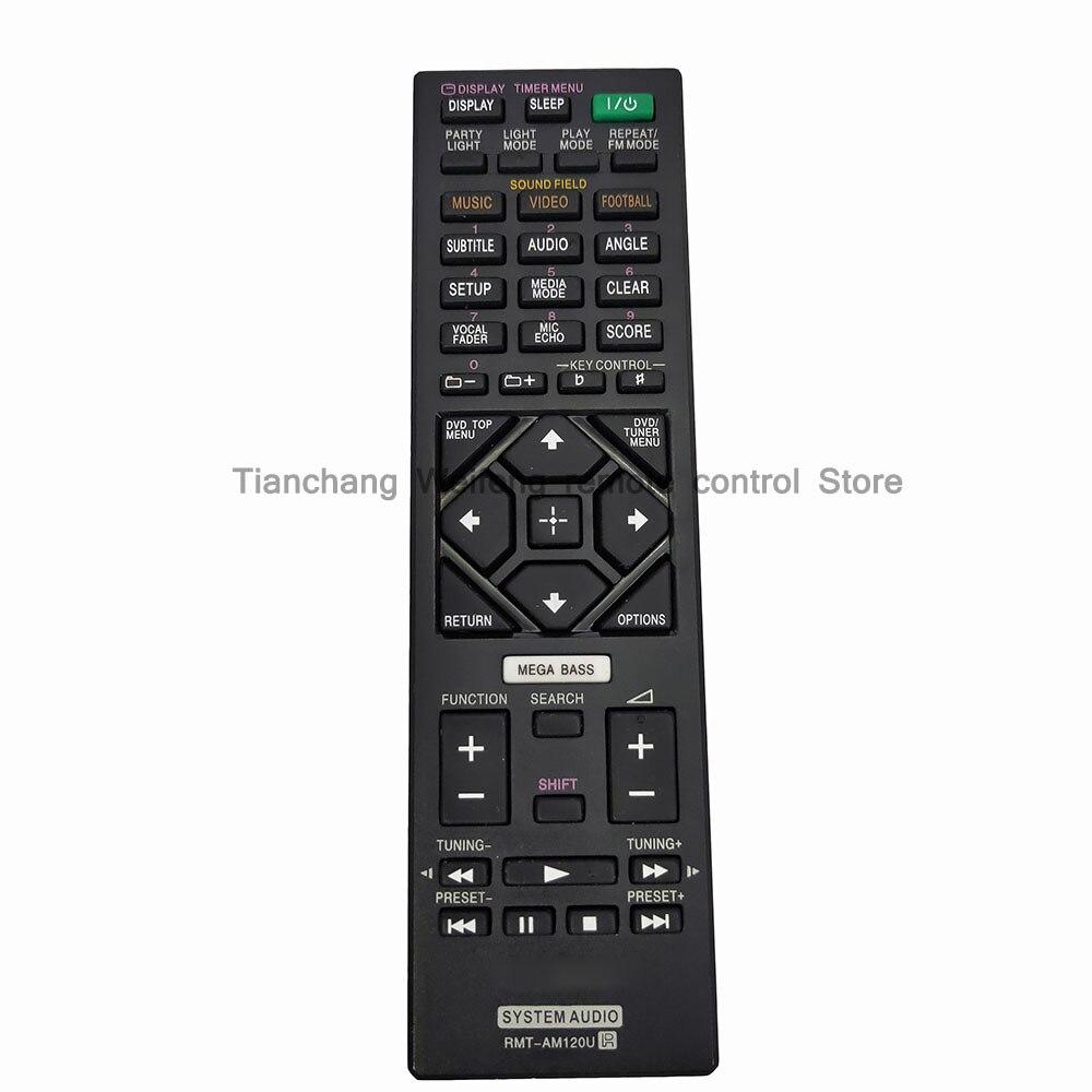 NEW RMT-AM120U Replacement for Sony system Audio Remote control for HCDGT3D HCDSHAKEX1 HCDSHAKEX3 HCDSHAKEX7 MHCGT3D