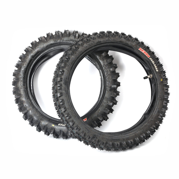 Vehículo todoterreno 60/100-14 80/100-12, neumático resistente al desgaste profundo, tubo exterior, tubo interior, Pit Dirt Bike