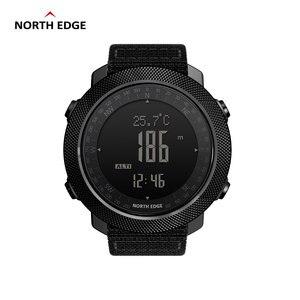 Image 3 - NORTH EDGE APACHE mężczyźni sport cyfrowy zegarek godziny działa pływanie zegarki wojskowe barometr wysokościomierz kompas wodoodporny
