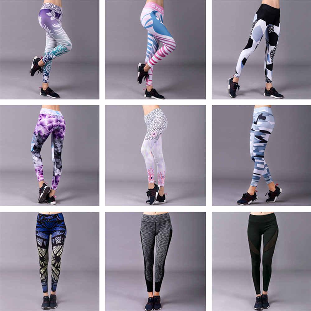 BARBOK ריצה חלק גרביונים נשים ספורט חותלות ללבוש ריצה מכנסיים Leggins כושר חדר כושר ספורט אימון יוגה מכנסיים