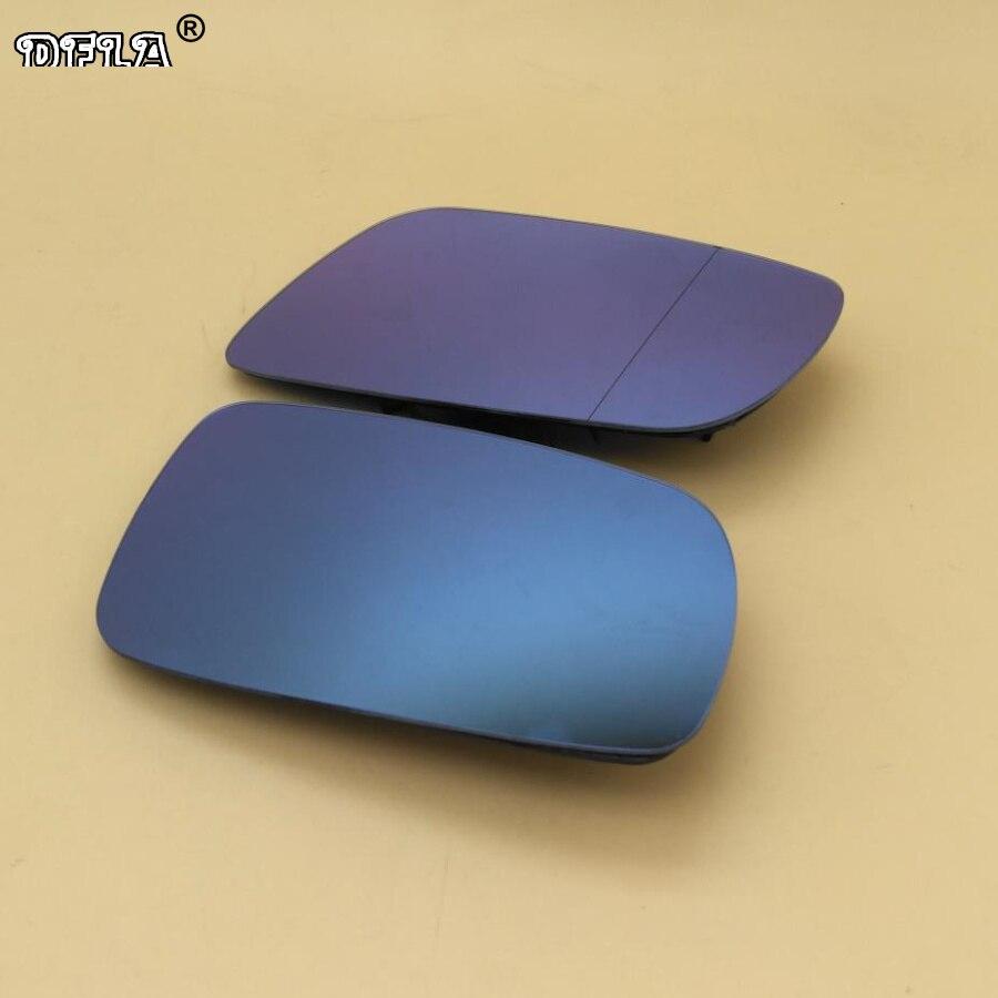 Для VW Passat B5 1997 1998 1999 2000 2001 2003 2004 2005 Автомобильное зеркало заднего вида  синее стекло с подогревом