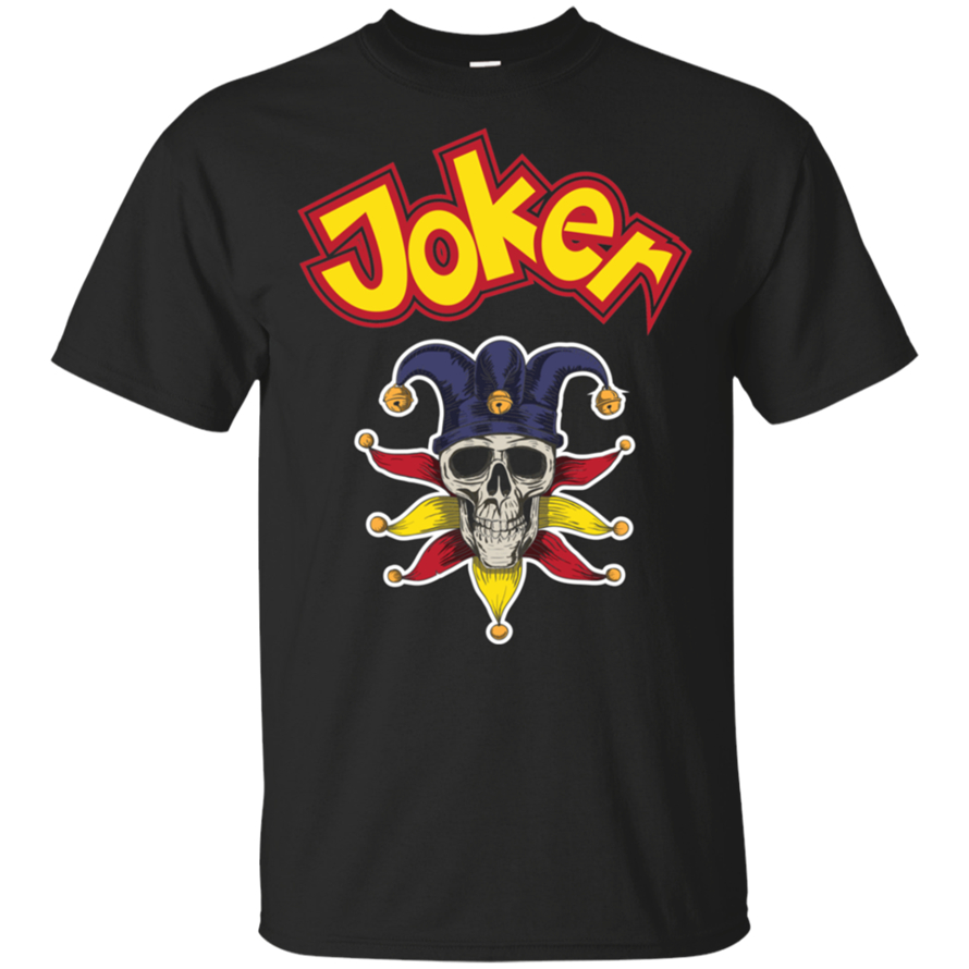 Cool Joker Or Comedians Halloween 2019 Gift Classic T-Shirt Black-Navy Men-Women Vintage Graphic Tee Shirt image