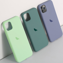 Original official Liquid Silicone Case For iphone