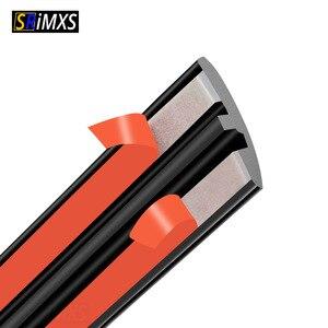 Image 1 - Gummi Auto Dichtung Auto Dach Scheibendichtstoff Gummi Protector Dichtung Streifen Schallschutz Fenster Dichtungen Auto Styling Für Auto