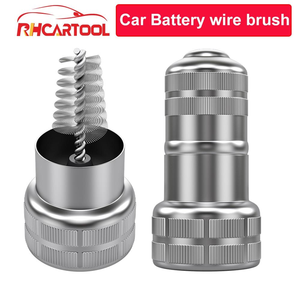 Car Battery Post Terminal Cleaner Brush Dirt Corrosion Brush Hand Clean Tool