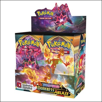 Покемон TCG: меч и щит темноты Ablaze Booster Box Pokemon Cards 36 Pack Box|Игровые фигурки и трансформеры|   | АлиЭкспресс