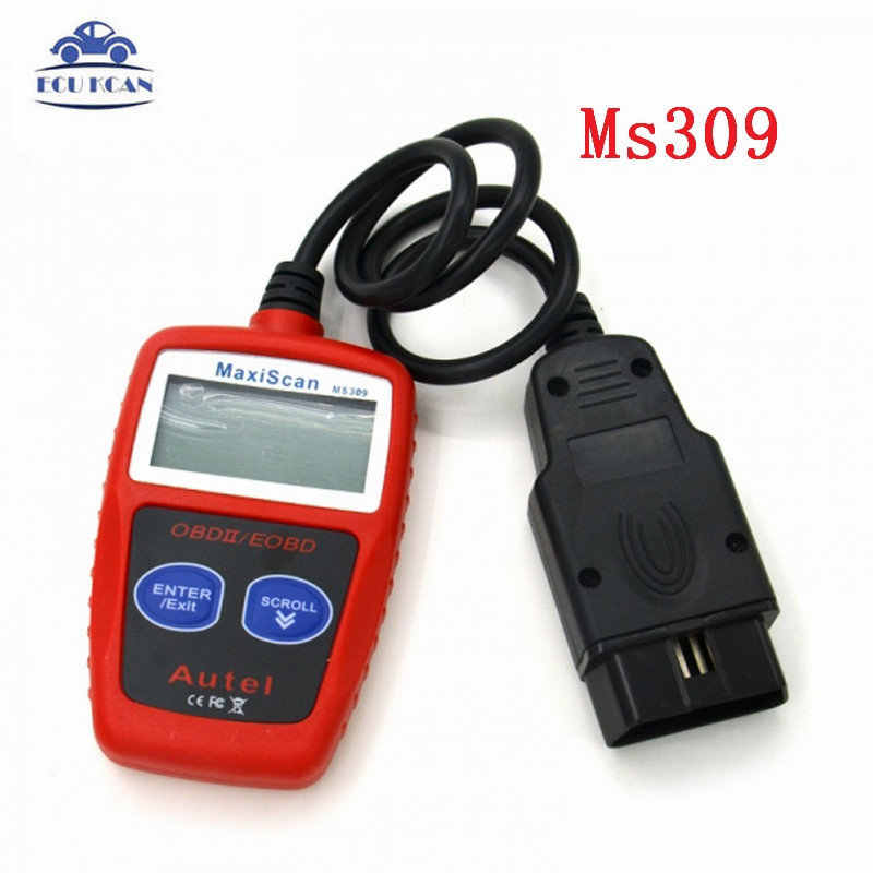 Maxiscan MS309 Kan Bus OBD2 Code Reader Eobd Obd Ii Diagnostic Tool Autel Ms 309 Code Scanner Multi-Taal