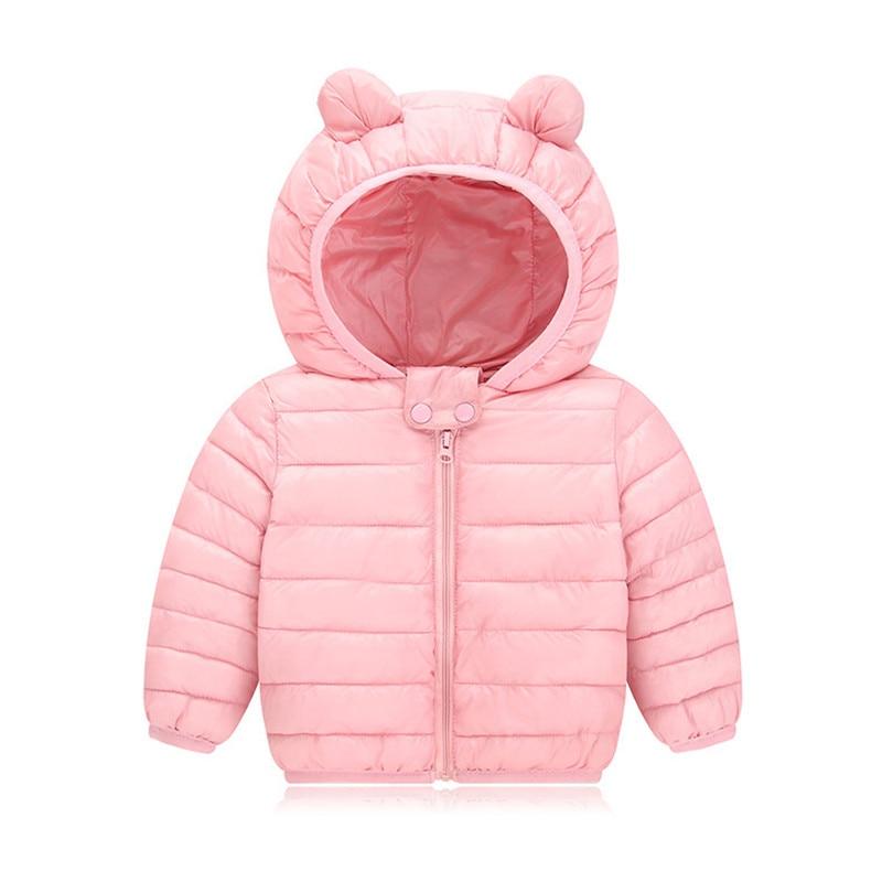 Baby Girls Hooded Down Jackets For Kids Coats Autumn Boys Cartoon Warm Jacket Coat Jacket Toddler Girl Zipper Jacket Outerwear 5