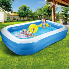 Inflatable Thickened Swimming Pool Home Baby Adult Home Paddling Pool Thickened Ocean Ball Pool Children's Swimming Pool