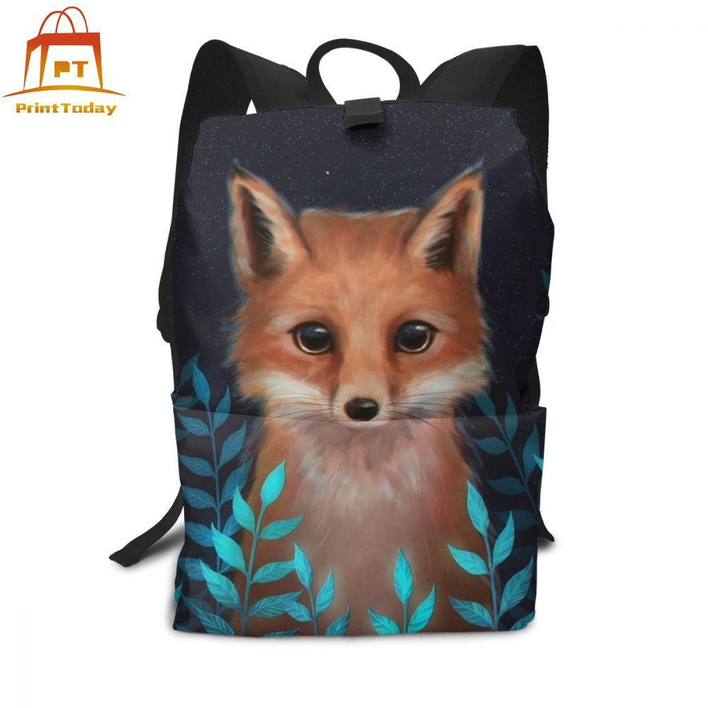 Fox Backpack Fox Backpacks Street Multifunction Bag Men - Women Pattern High Quality Teenage Trendy Bags