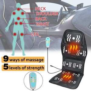 Image 2 - ไฟฟ้านวดรถที่นั่งสนับสนุนบ้านสำนักงานนวดLumbar Cushionคอผ่อนคลายความเจ็บปวดบรรเทารถอุปกรณ์เสริม