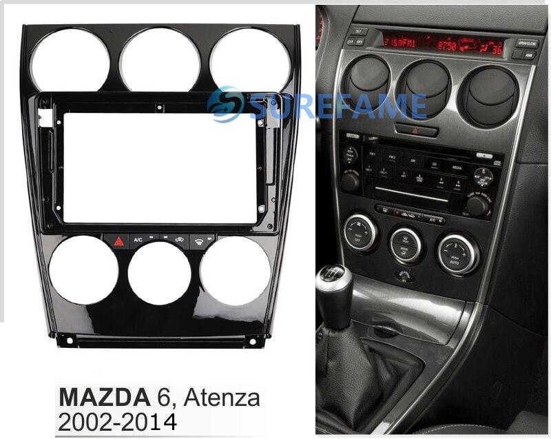 6 UGAR 08-011S Trim Fascia Car Radio Installation Mounting Kit for ...