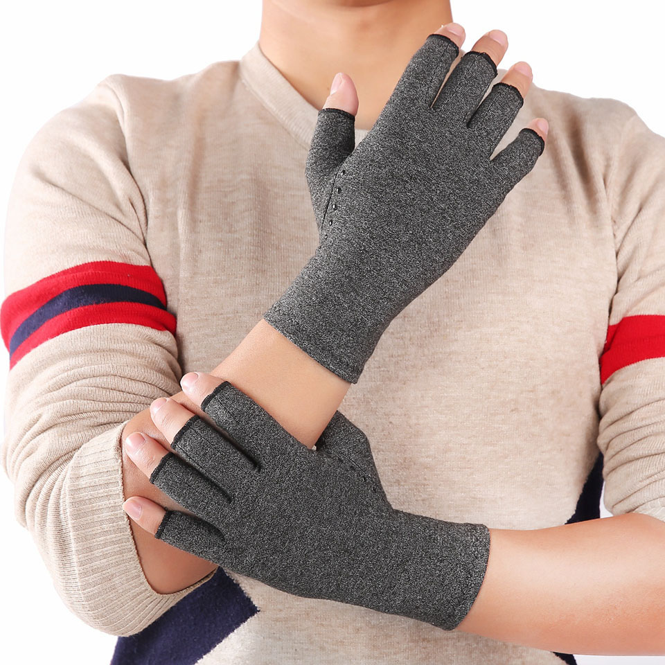 Arthritis Compression Gloves For Women And Men -Copperfit Compression Arthritis Pain Relief Hands For Rheumatoid Arthritis 1