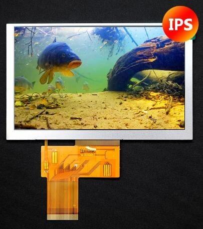IPS 5,0 дюймов 40PIN HD TFT LCD цветной экран 24Bit RGB интерфейс 800*480