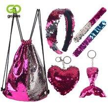 Goplus рюкзак на шнурке для мини платье девочек с пайетками