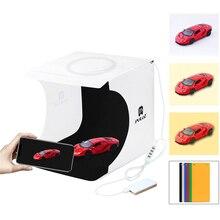 Mini Anillo de luz LED plegable para estudio fotográfico, regulable, ajustable, 20CM, caja de luz, tienda, recién llegado