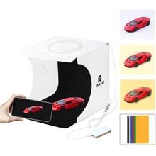 New Arriver Mini Folding LED Ring Light CT Adjustable Dimmable Mini Photo Studio Set 20CM Portable Photography Light Box Tent
