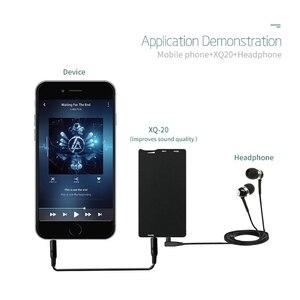 Image 5 - XDUOO XQ 20 미니 HIFI 오디오 OPA1652 LMH6643 휴대용 헤드폰 앰프 앰프