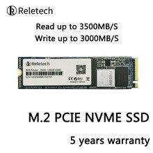 Reletech ssd m2 nvme pcie 240gb 500gb 1tb m.2 unidade de estado sólido independente cache 2280 disco rígido interno para desktop portátil