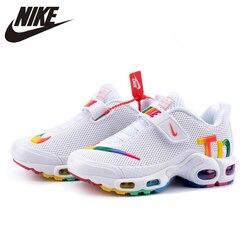 Nike Air Max Tn zapatos para padres e hijos Original recién llegado zapatos cómodos para correr para hombres zapatillas deportivas al aire libre # CT0962