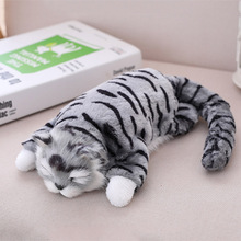 Cute Plush Simulation Cat Stuffed Plush Toy Will Be Called Tumbling Simulation Cat Doll Gift For Children Nultiple Color Options