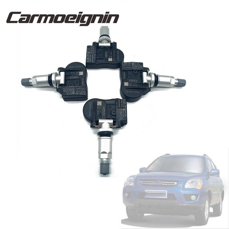4 PCS Tire Pressure Monitor System Sensor For Kia Cadenza K7 17-18 Sportage / NIRO 17-19 SORENTO 18-19 52933D9100 52933-D9100