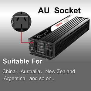 Image 4 - Pure Sine Wave Inverter 3000W New DC 12V 24V 48V to 110V 220V Car  Solar  Power Inverter