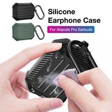 Новый Углеродного Волокна Защитный Чехол Для Наушников Airpods Про Bluetooth Наушника Пылезащитный Протектор Чехол Для Airpods Про Наушники