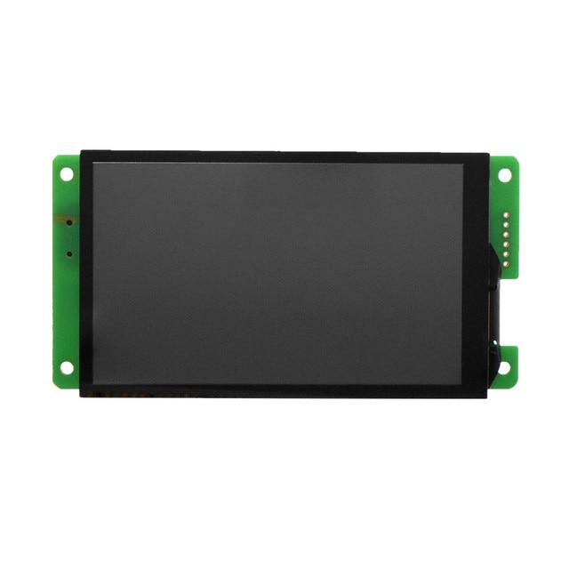 DMG80480C043_02W 4.3 인치 직렬 포트 화면 스마트 스크린 IPS 화면 좁은 테두리 24 비트 색상 DMG80480C043_02WTC DGUSⅡ 시스템