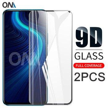 Перейти на Алиэкспресс и купить Honor X10 3 шт. 9D изогнутое закаленное стекло для Huawei Honor X10 Max 5G Защитная пленка для экрана Honor X10 Max 5G