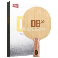 New DHS 08X Table Tennis Blade (Big Head, Defensive Chop Attack) Original DHS 08 X 08 X Chop CARBON Racket Ping Pong Bat Paddle