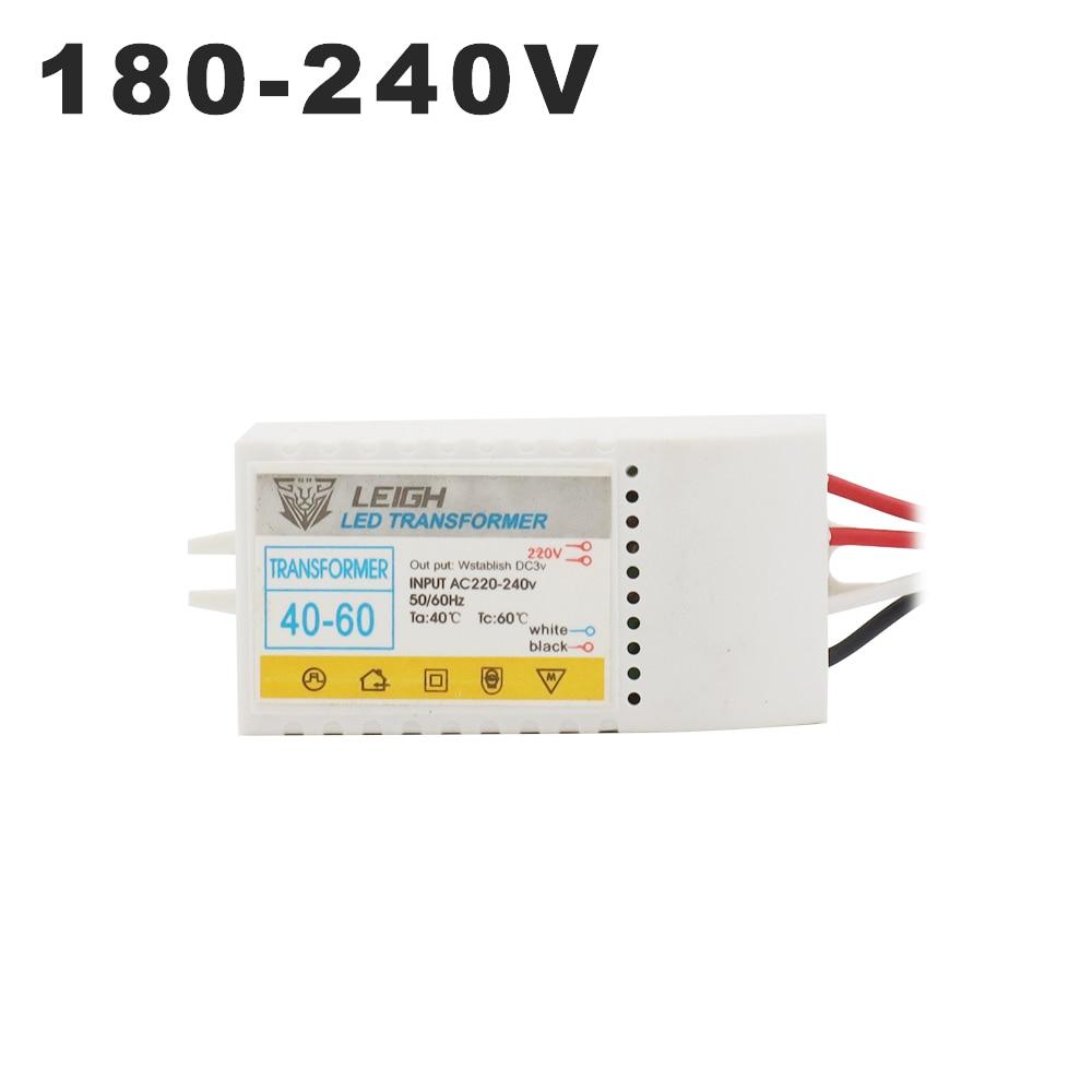 Светодиодный трансформатор 220 В в DC3V, 1-80 шт., светодиодный контроллер низкого напряжения, светодиодный драйвер 15 мА, светильник, излучающий д...