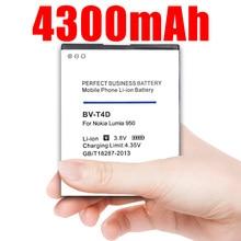 4300mAh BV-T4D BVT4D Li-ion Phone Battery for Nokia Microsoft Lumia