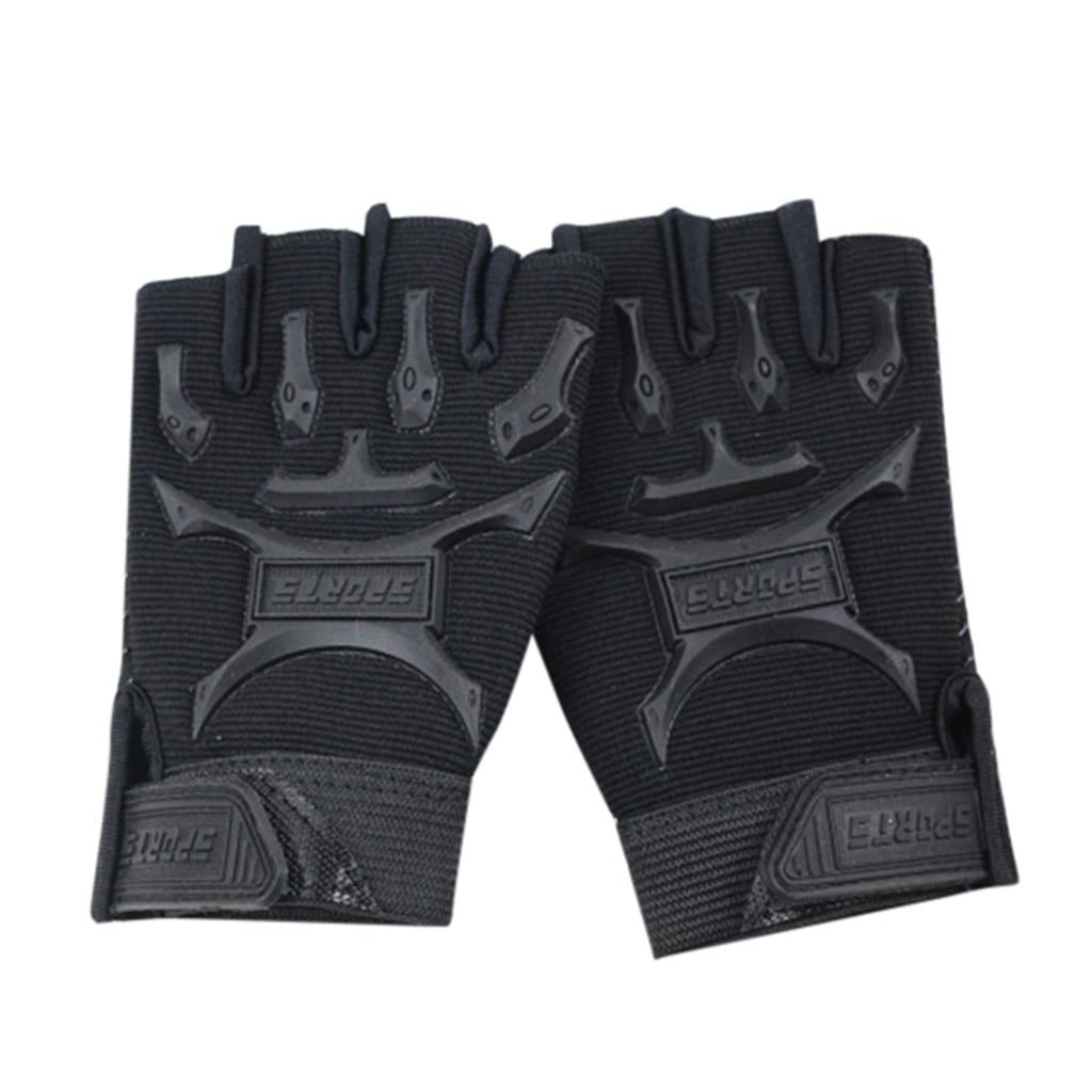 Children Sport Gloves for Training with Wrist Support for Fitness winter guantes tactical gloves handschoenen fingerless luvas 4