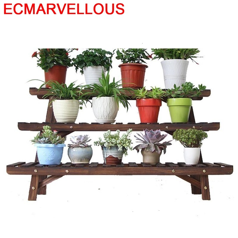 Scaffale Porta Piante Suporte Flores Stojaki Living Room Indoor Outdoor Dekoration Stojak Na Kwiaty Flower Shelf Plant Stand