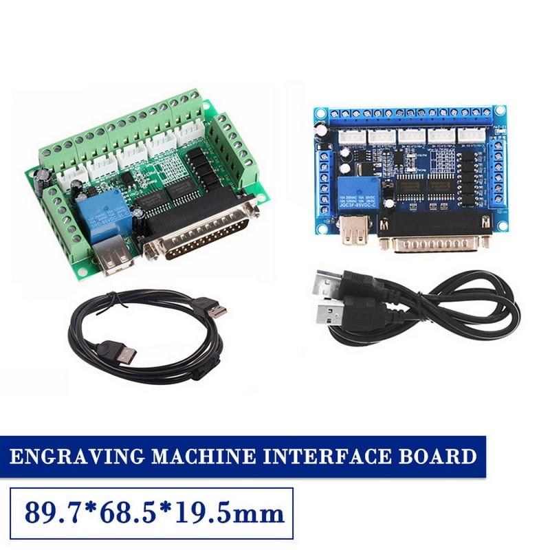 Машина MACH3 для подключения к 5 осям, разрывная доска с открытым ходом для мотора, контроллер привода шага