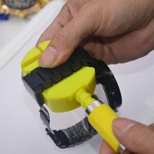 Image 4 - ووتش rRepair كيت ووتش أدوات مطرقة صغيرة عودة حالة حدق متر إزالة حزام (استيك) ساعة إزالة تبويب إصلاح أدوات