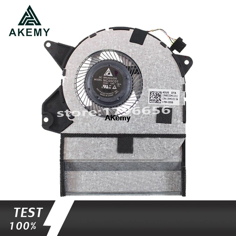 New for ASUS UX360U UX360UA UX360UA-1C Q324UA 13NB0C00M11011 NC55C01-16B16 CPU cooling FAN