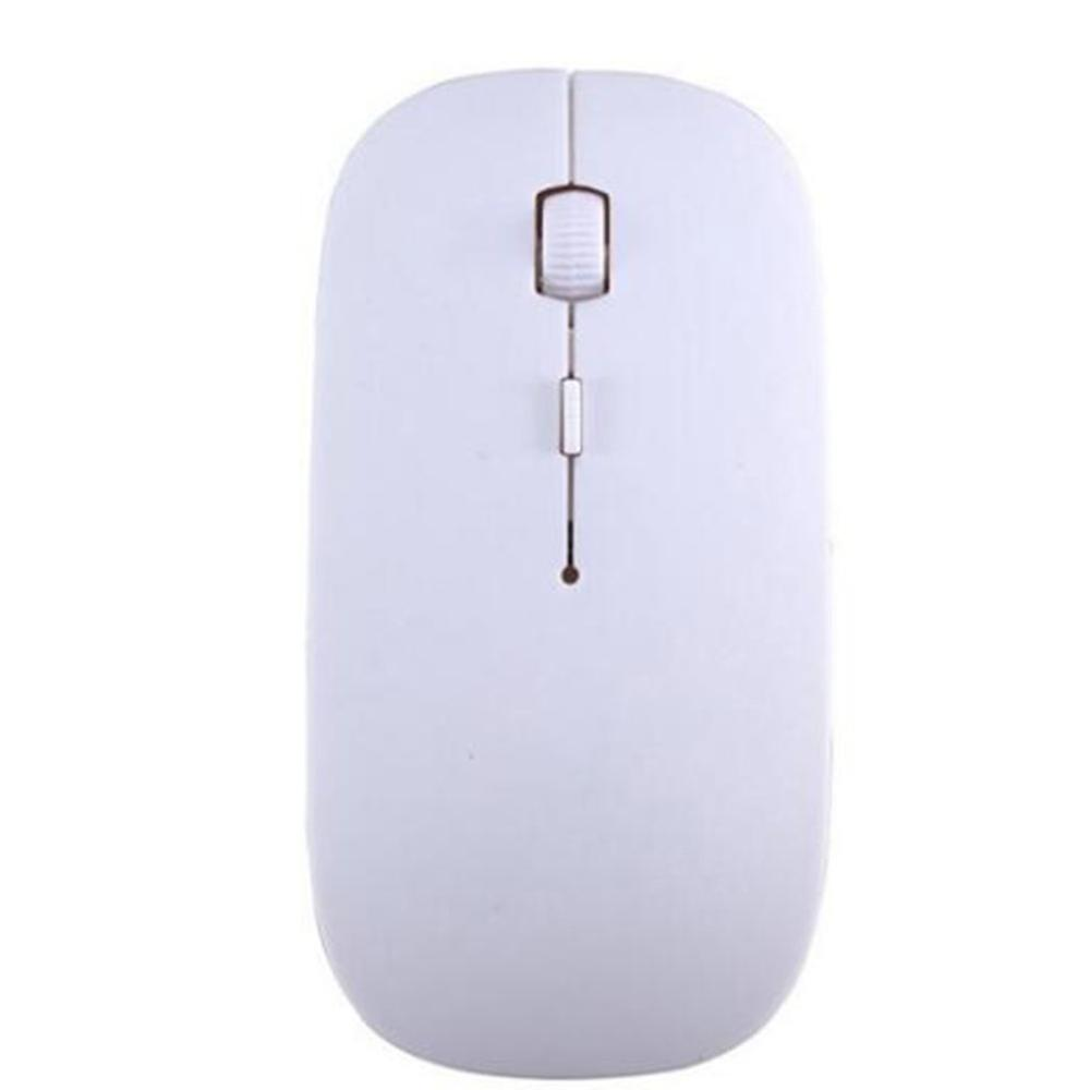 Ultra Thin USB Optical Wireless Mouse 2.4G Receiver Super Candy Color Slim Mouse For Desktop Computer PC Laptop