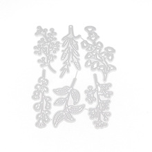 2020 New 6pcs Flowers and Leaves Metal Cutting Dies Stencils for DIY Scrapbooking Die Cuts Paper Craft Dies for Card Making yaminsannio boots dies scrapbooking metal cutting new 2019 shoes die cuts for card making cloud craft dies embossing