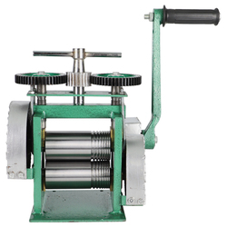 Квадратная ручная мини-Золотая прокатная мельница, ювелирная прокатная мельница с максимальным открытием 0-5 мм