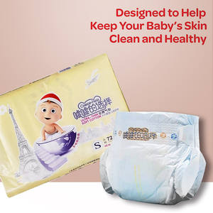 Baby-Diaper Wetness-Indicator Snug Dry Super-Absorbent Comfortable Pollution-Free Hypoallergenic