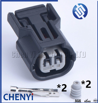 5 sets 2 pin inlet pressure sensor connector female Automotive waterproof connector 6188-0590 6189-0891 DJ70210A-1-21 for Honda image